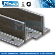 T50A elevator guide rail t50/a cold drawn guide rail