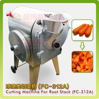 FC-312 Vegetable cutting machine /fruit cutting machine /root vegetabble cubes,chips ,slicing cutter