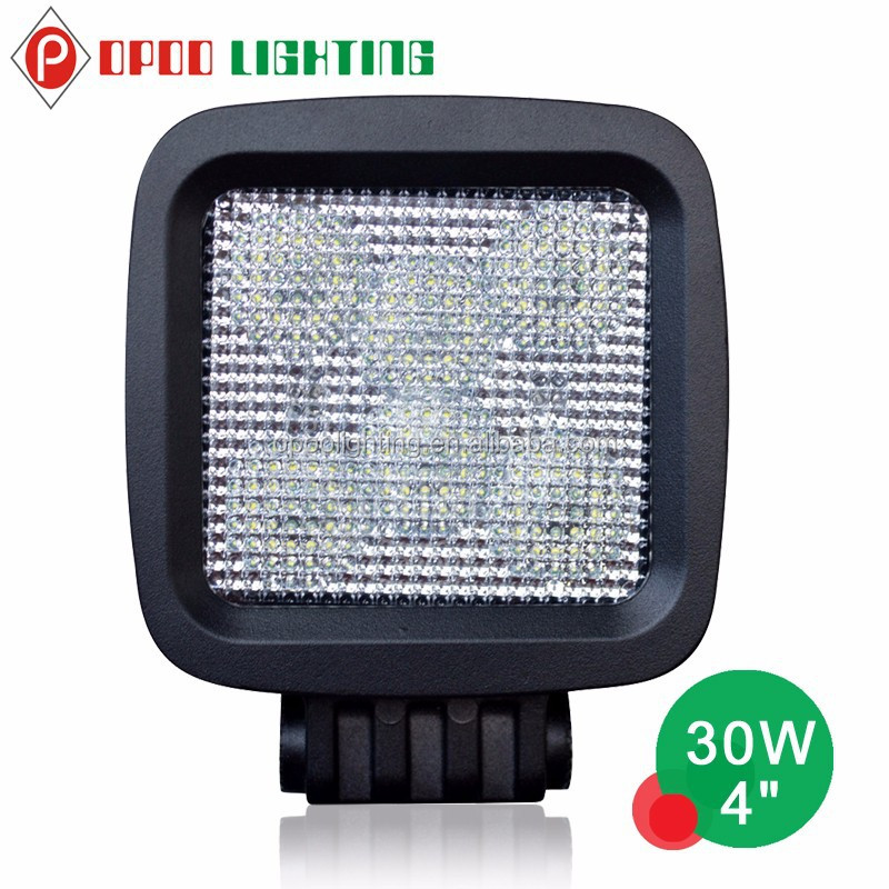 30w led work light, 4inch offroad 4x4 auto 12v led track light