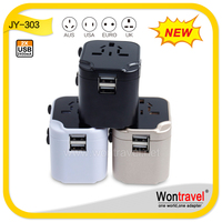 Wholesale Newest Design universal travel adapters latest electronic gift items with patent protect (JY-303)