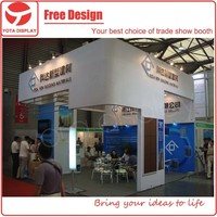Yota offer rent service, customized exhibition water based paint booth for CHFE Show