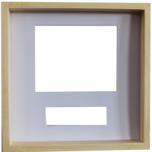 Solid wood unpainted shadow boxes raw wood unfinished