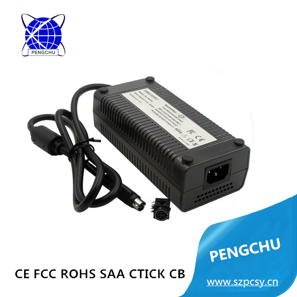 230v ac 24v dc converter atx, 24v 8a switching power supply, CE RoHS FCC