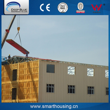 cost-efficient lightweight SOHO steel structure apartment building prefab
