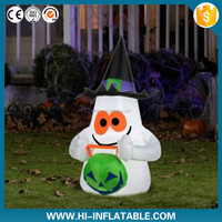 Newest Halloween LED lighting inflatable decoration,halloween cartoon