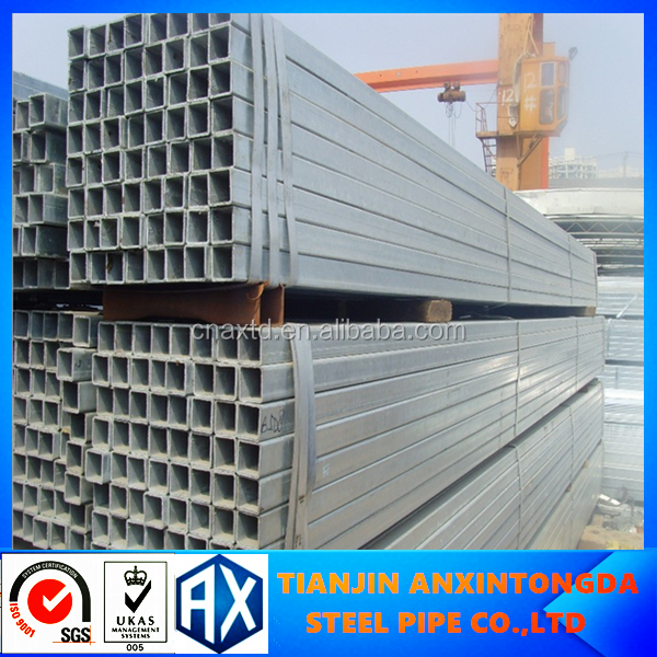 Tianjin factory furniture square steel tube/welded steel pipe 88