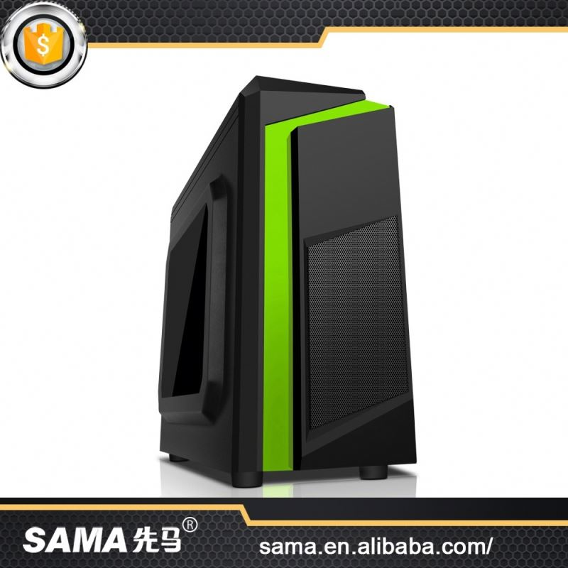 SAMA Credible Quality Exquisite Professional Design Steel Material Micro Atx Desktop Case Pc Cabinet