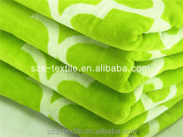 pastel color changing bath towel