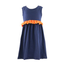 Kids Girls Toddler Baby Princess Dress flower ruffle Party Sleeveless Dresses made in China