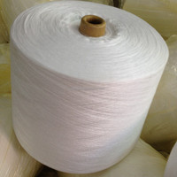 China Suppliers 40/2 Raw White Paper Cone Spun Polyester Sewing Thread , Sewing Thread Polyester Carpet Yarn