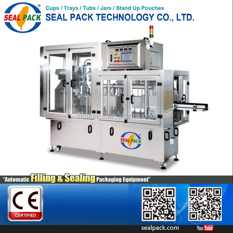 2017 New product water sachet meat rolling filling machine