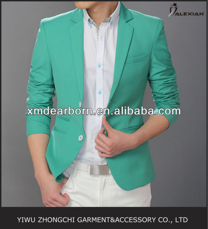 men's green sport blazer