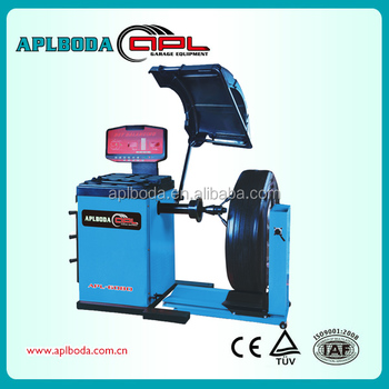 High quality automatic truck and truck wheel balancer