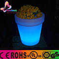 Rechargeable wireless remote control colorful LED flower pot