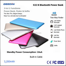 best selling products factory cheap price portable power bank 3200mah