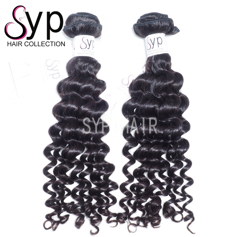 Top Virgin Human Heat Free Hair Weave Piece Malaysian Black Extensions