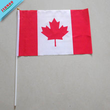 National Day Gift Printed Hand Held Promotional Flags