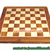 environmental wooden Chess board