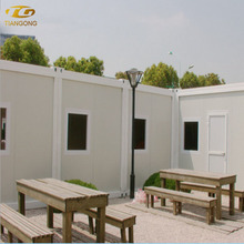Customized China Prefabricated Homes/Modular Apartment Building House