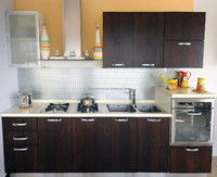 Affordable modern mini kitchen cabinet units