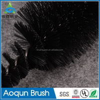 Factory customized curved handle cleaning brush