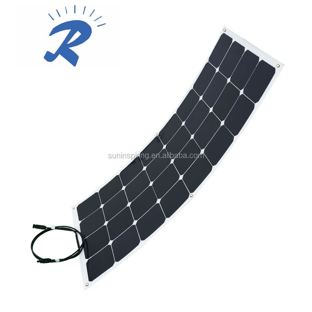 100W Sunpower flexible solar panels, flexible solar modules