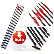 "30"" Fiberglass Arrow Spine 340 ID6.2mm for Compound Bow and Recurve Bow Archery and Hunting"