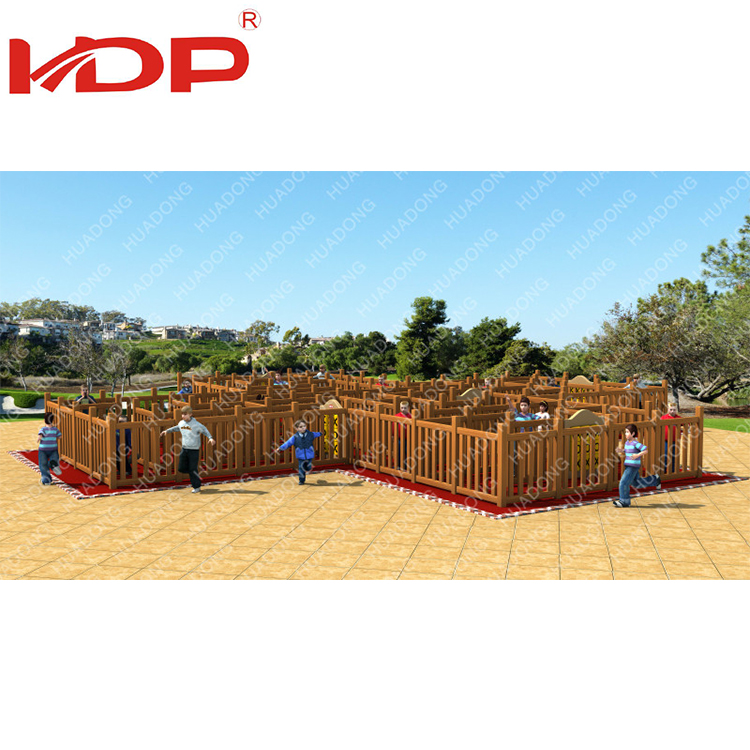 Develop Intelligence Entertainment wooden Outdoor Playsets For Children
