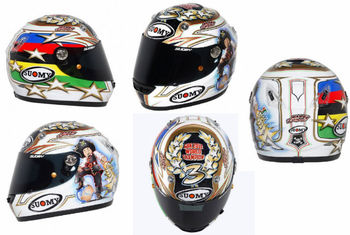 Suomy Vandal Max Biaggi World Champion Ltd. 2012