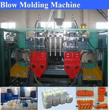 blow molding machine for producing plastic pallets