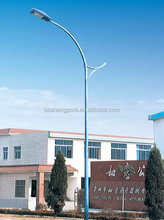 LED Metal Light Post Single Arm Electric Pole
