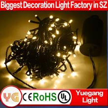 2017 Hotsale 4.5V christmas LED string lights extendable used in village,patio,pathway