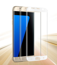 Wholesale factory high quality 9h tempered glass screen protector for samsung GALAXY s7 edge