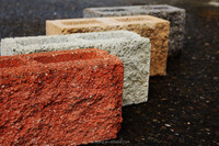 Generic Nature Surface Concrete Masonry Unit, Concrete Block