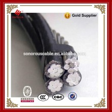 NO.3139- 0.6/1KV different overhead line conductors ABC cable aluminium conductor PE/XLPE insulated Aerial Bundle Cable
