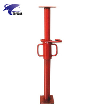Adjustable Metal Support Poles Steel Props Light Duty Props For Construction