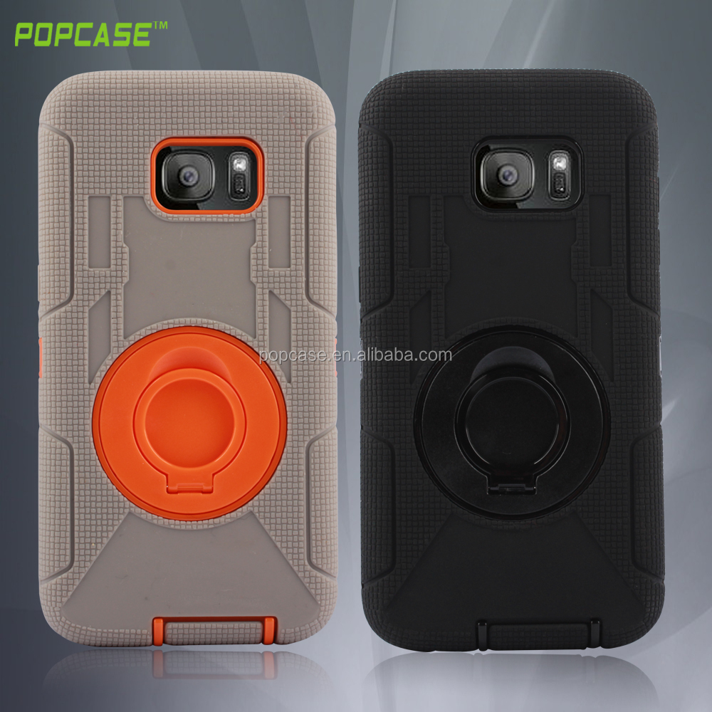 wholesale stand special Commander combo cell phone case for samsung galaxy s7 edge