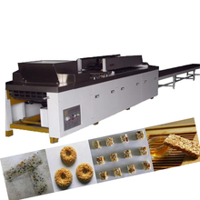 High quality automatic puffed rice cake making machine peanut candy, melon seeds, sesame candy forming machine