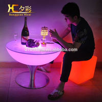 Illuminated Bar Cocktail Table Club Decorative Drinking Tables Holiday Desk