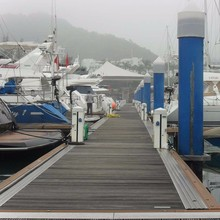 UV protected marina steel frame floating dock with competitive price