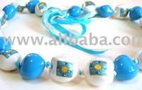 Kukui Nuts Lei with Customized Logo