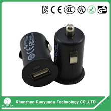 CE UL KC GS RoHS approved Smart qc2.0 Car Charger with on off switch