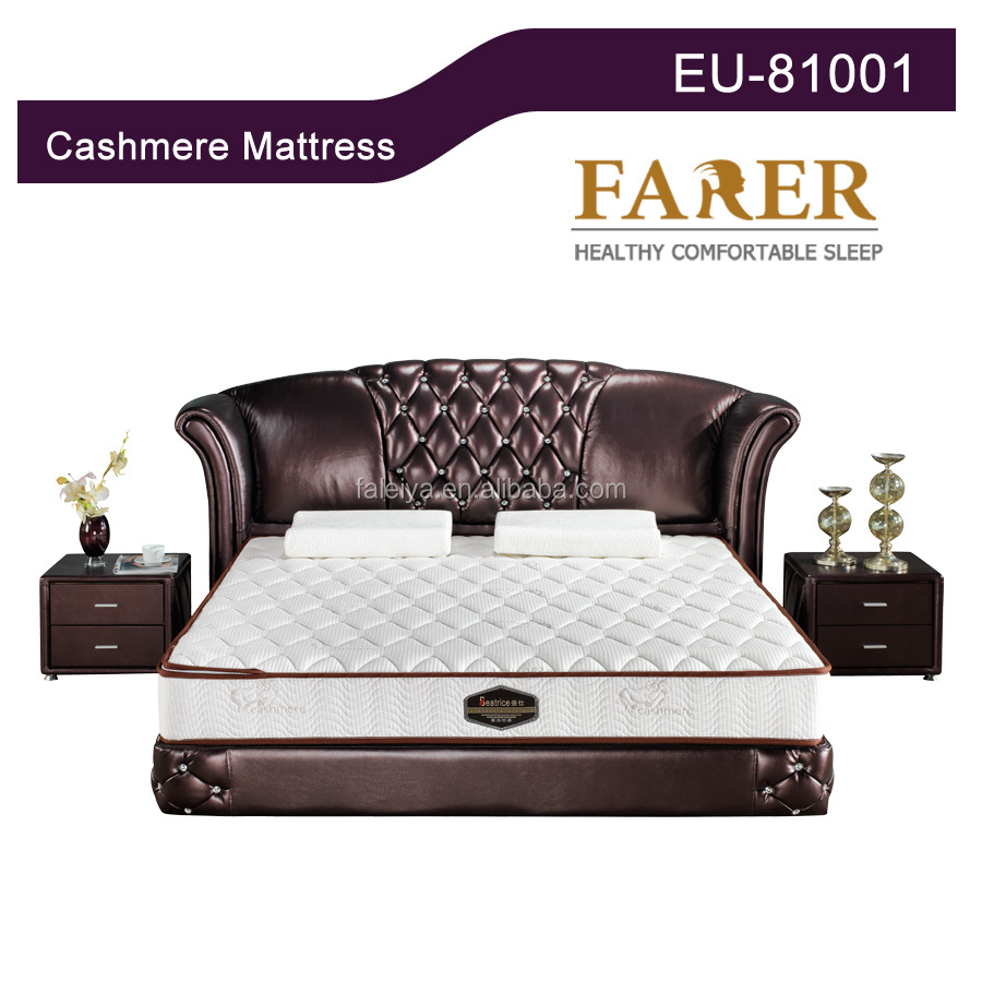 Sexy Bedroom Furniture Mattress General Use Cashmere Fabric Mattress