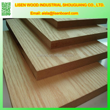White Melamine Laminted MDF Board, Texture MDF Wood Panel