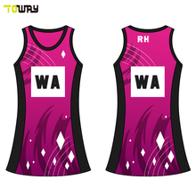 sublimation women cheap netball dress