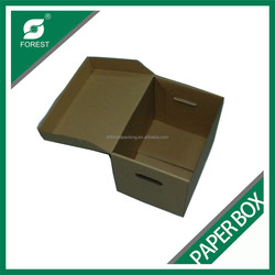 DECORATIVE DOCUMENT HOLDING BOX CORRUGATED PAPER BOX ARCHIVE BOX SHANGHAI MADE