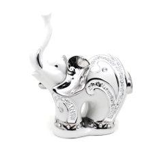Ceramic Luxury Elephant Figurine Collection Paperweight Table Centerpiece Ornament with Several Diamantes