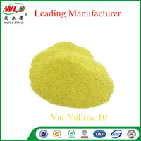 C.I.Vat Yellow 10 Vat Dye Yellow 3GL Factory