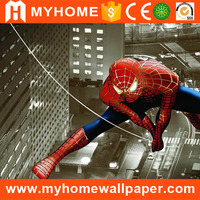 Wholesale Chinese Waterproof Landscape Design Wallpaper Mural Cheap Extrior Floor Decorative PVC Fabric 3d Wall Murals for Kids
