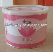 Pink hair removal soft wax for sensitive skin 400ml